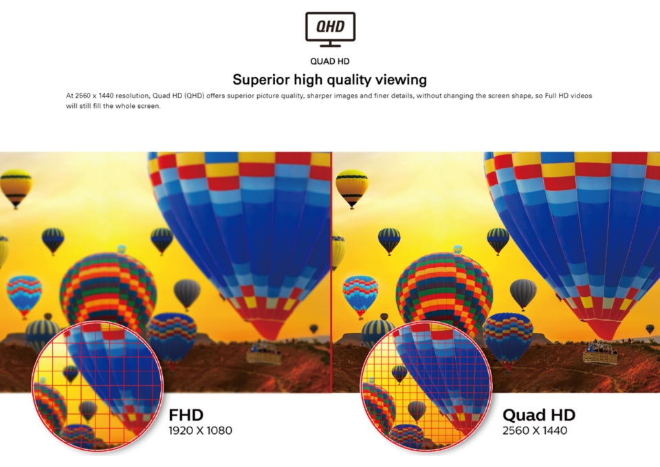AOC Q32V3/WS QHD 75Hz 31.5in Monitor features 2