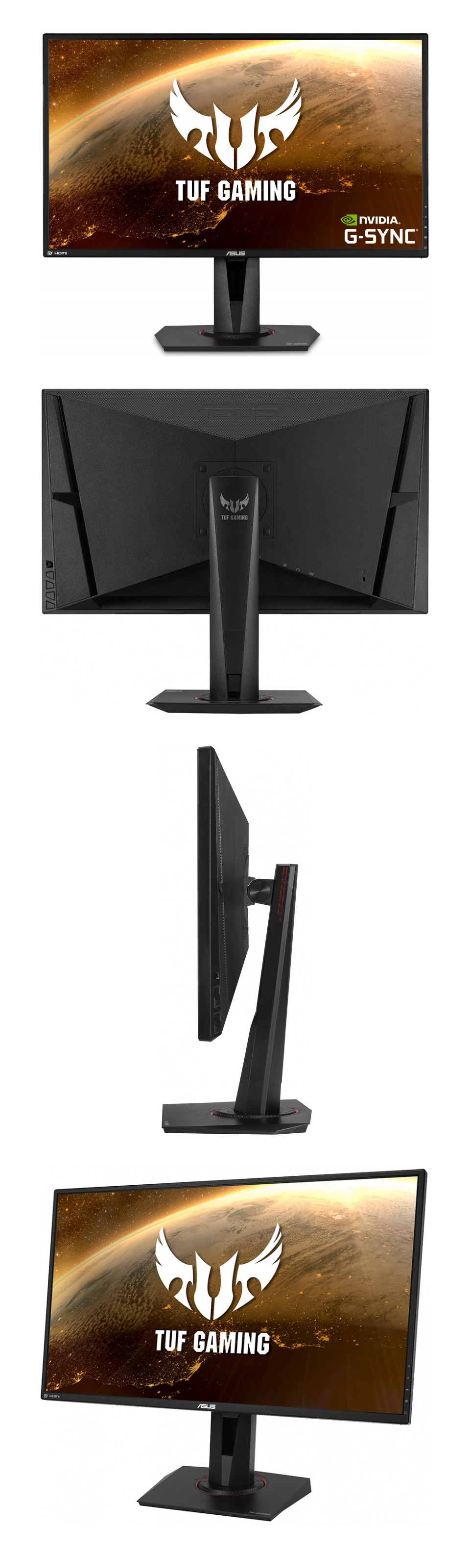 ASUS TUF VG27AQ WQHD 165hz G-Sync IPS 27in Monitor product