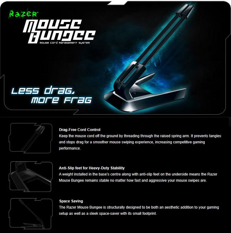 Razer Mouse Bungee [RZ30-00610100] : PC Case Gear