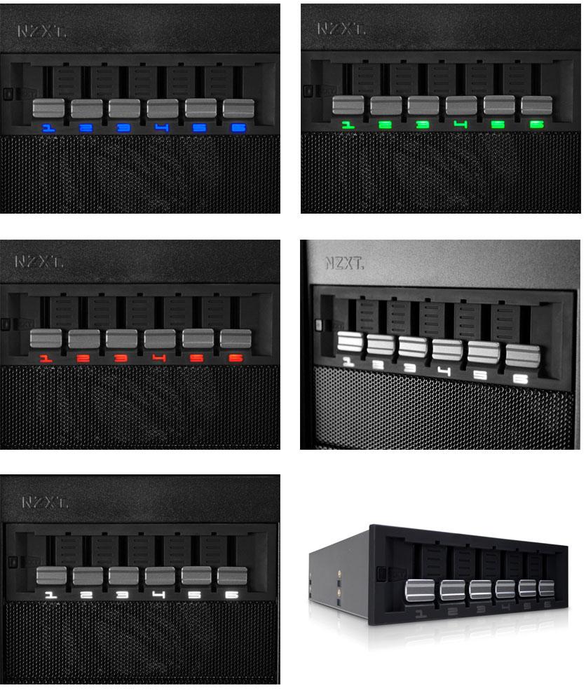 NZXT Sentry Mix Fan Controller [ACNZSENMIX] : PC Case Gear