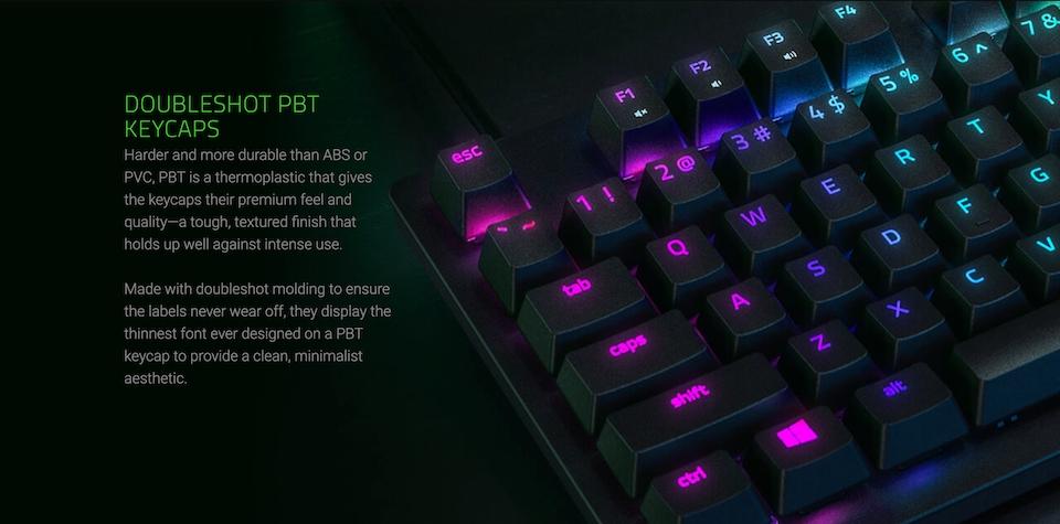 Razer Huntsman Tournament Edition Opto-Mechl Gaming Keyboard features 3