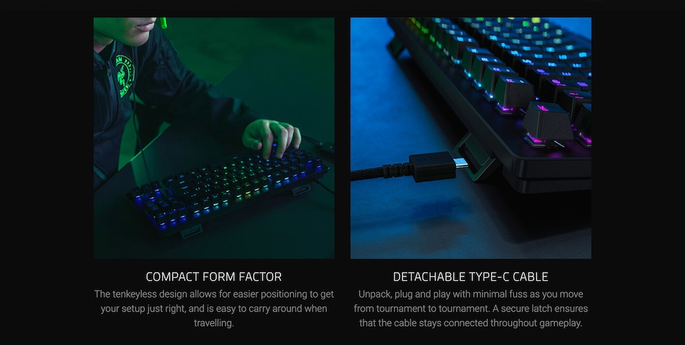 Razer Huntsman Tournament Edition Opto-Mechl Gaming Keyboard features 5