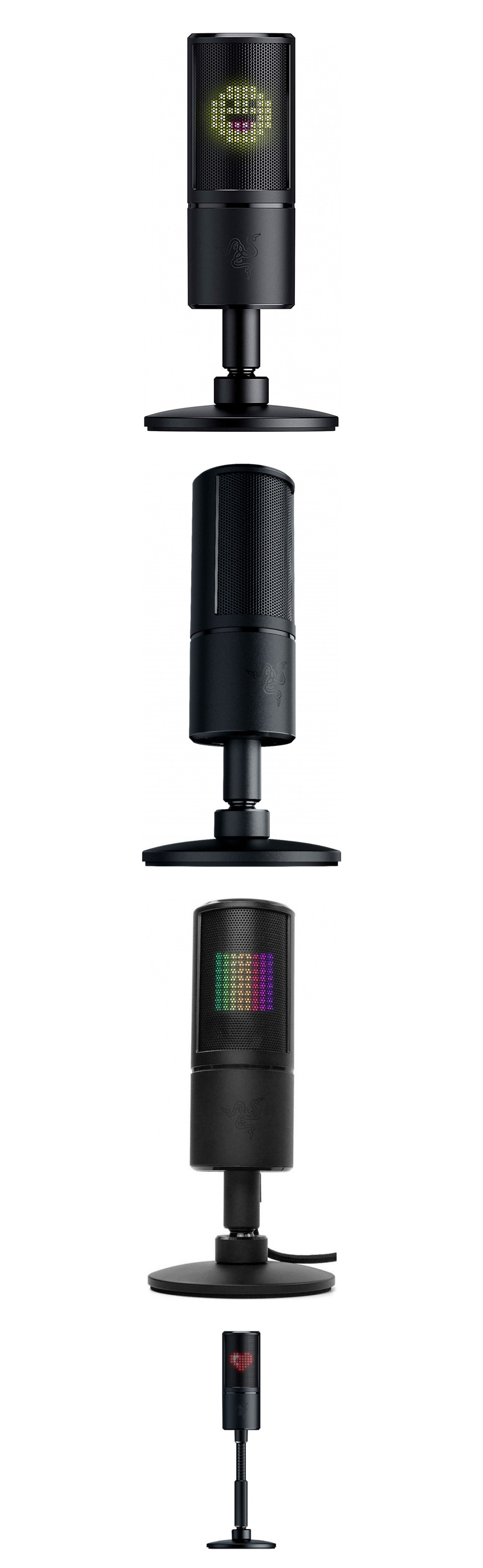 Razer Seiren Emote USB Desktop Microphone product