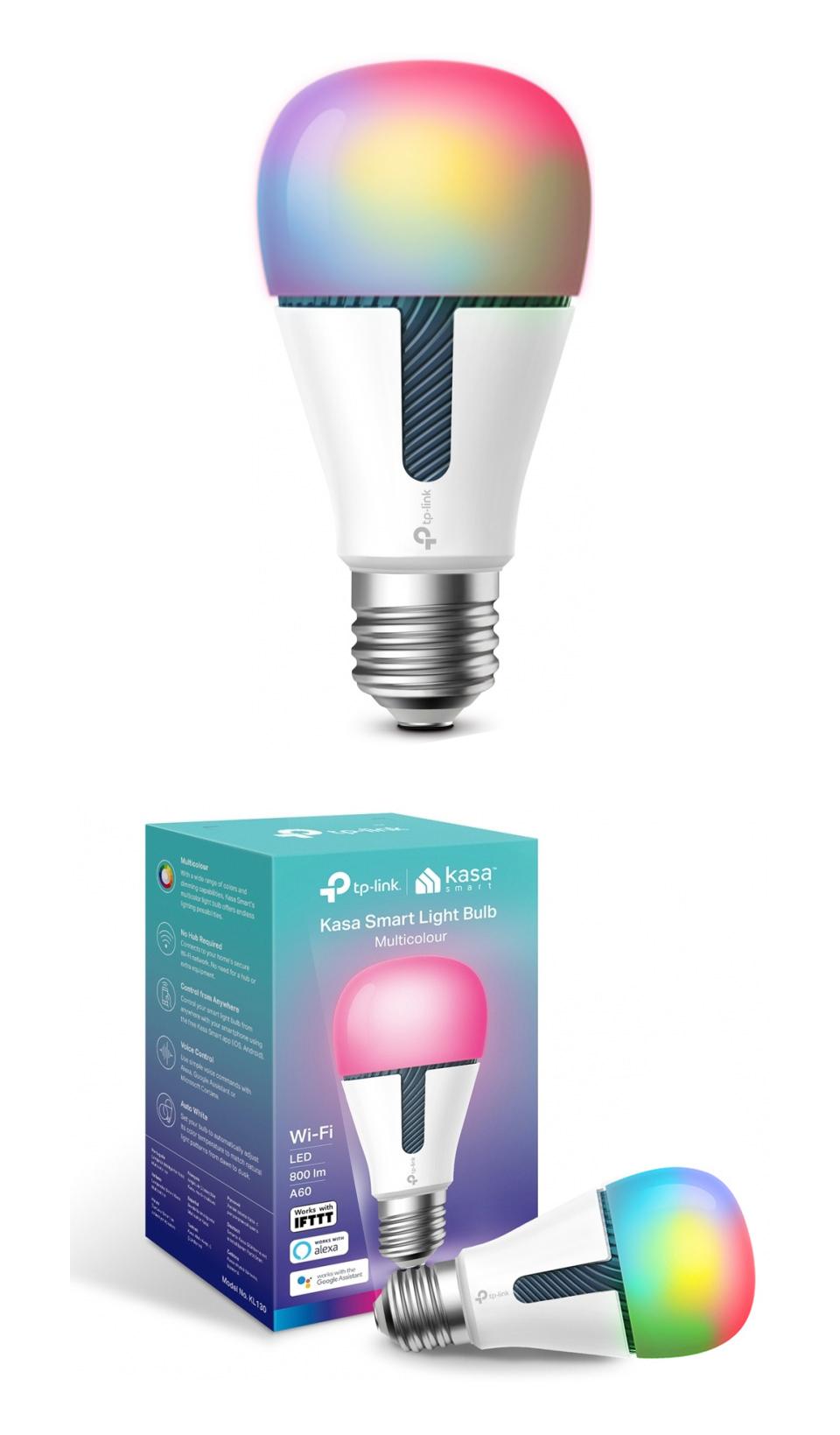 TP-Link KL130 Dimmable Multi-Colour Smart LED Bulb product