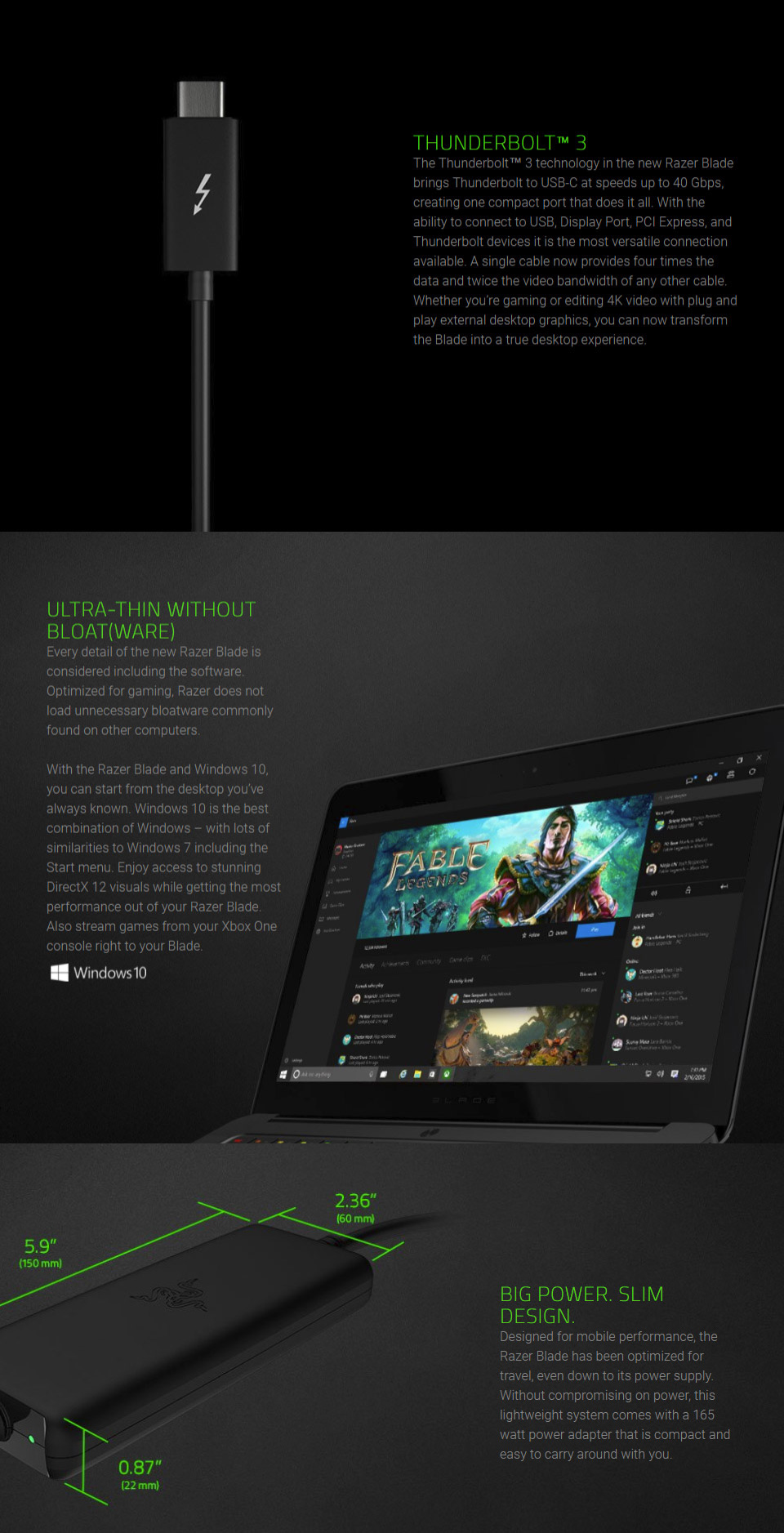 Razer Blade 14in Core i7 Gaming Laptop [RZ09-01953E72] : PC