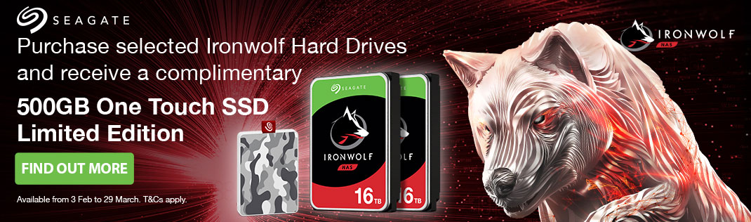 Seagate Ironwolf Promotion