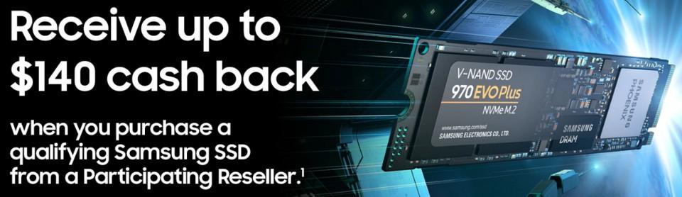 Samsung 970 PRO M 2 NVMe SSD 1TB [MZ-V7P1T0BW] : PC Case Gear