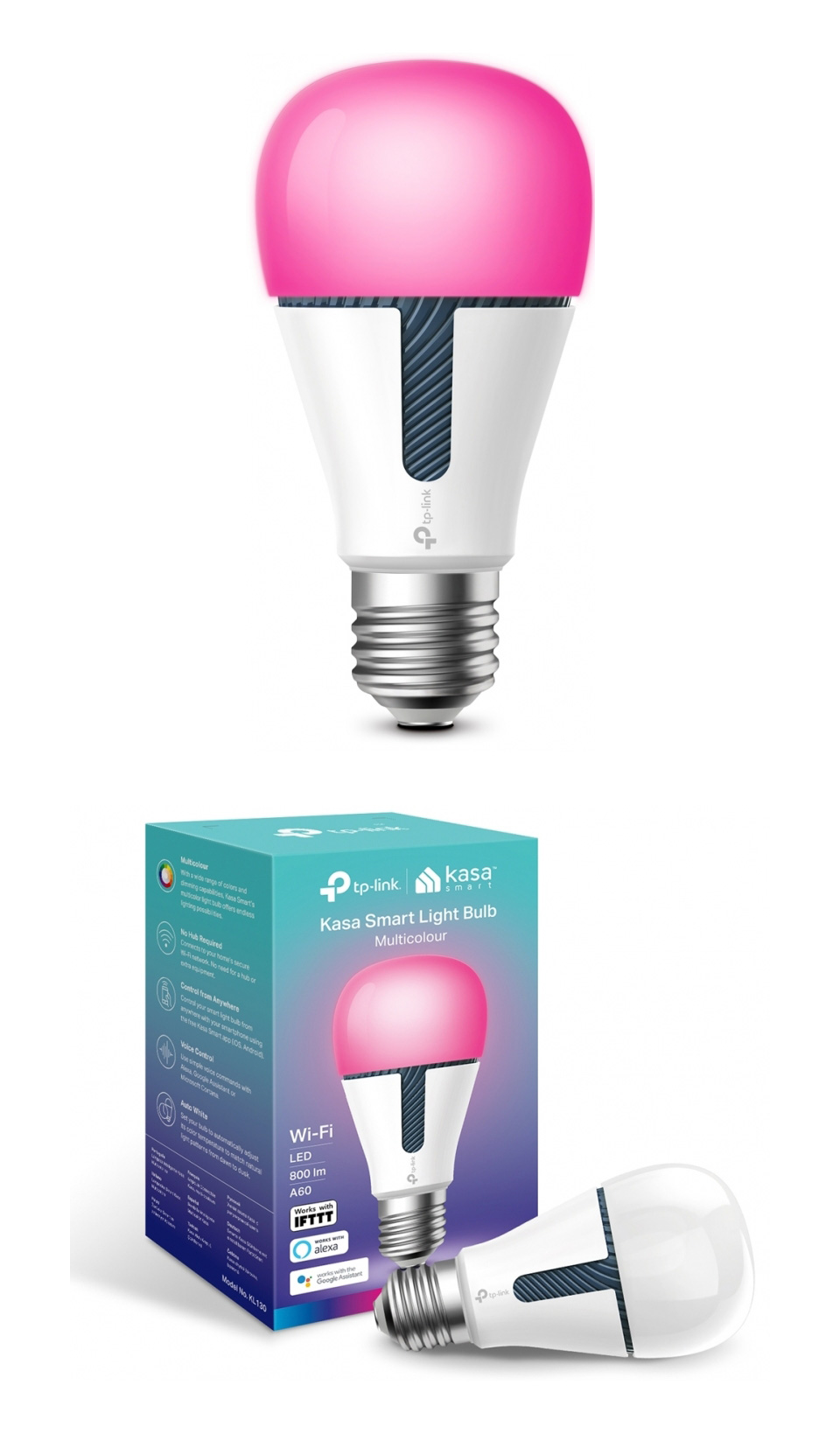 TP-Link KL130 Dimmable Multi-Colour Smart LED Bulb product