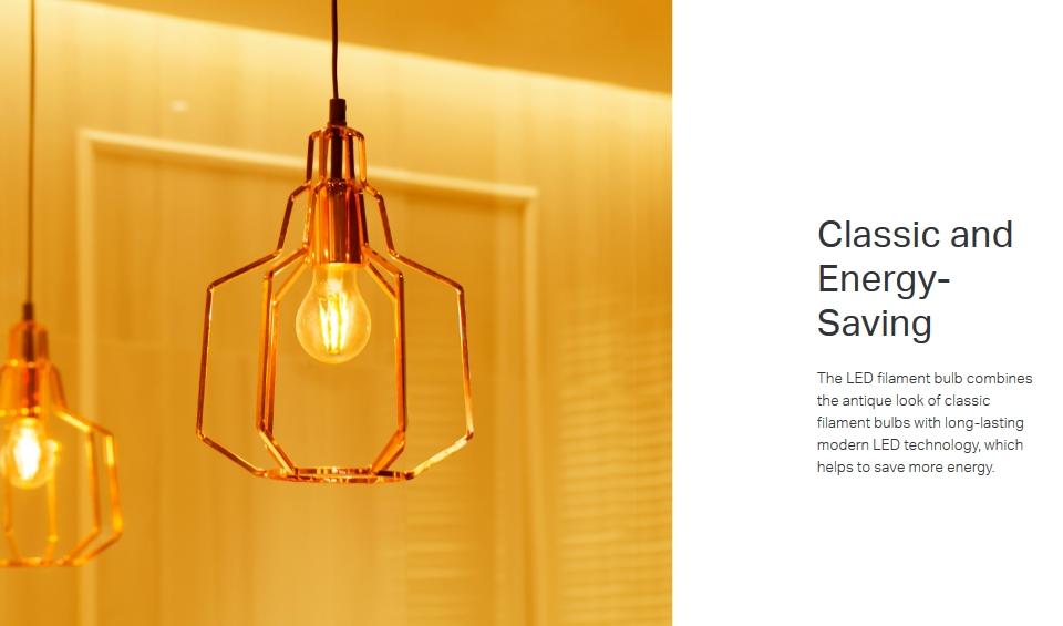 TP-Link KL60 Warm Amber Filament Smart Wi-Fi LED Bulb featrues 3