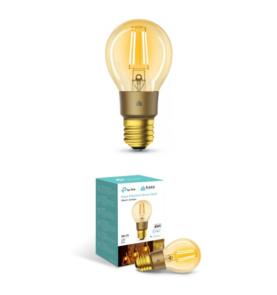 TP-Link KL60 Warm Amber Filament Smart Wi-Fi LED Bulb product