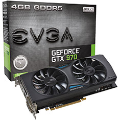 EVGA GeForce GTX 970 ACX 2.0 4GB