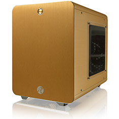 Raijintek Metis Mini ITX Case Gold
