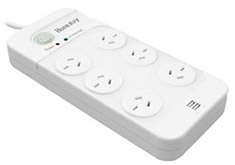 Huntkey 6 Outlet Surge Protected Powerboard with USB