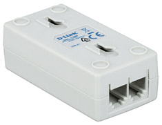 D-Link DSL-15MF ADSL2+ Micro Filter Splitter