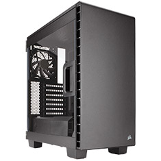 Corsair Carbide Clear 400C Compact Mid-Tower Case Black