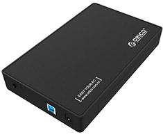 Orico 3588US3 USB 3.0 3.5in Hard Drive Enclosure Black