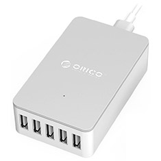 Orico 5 Port USB Charger White