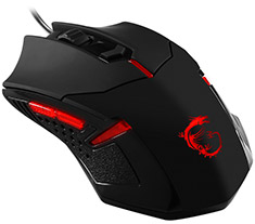 MSI Interceptor DS B1 Optical Gaming Mouse Black