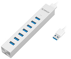 Orico 7 Port USB 3.0 Type C Hub