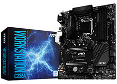 MSI C236A Workstation Motherboard