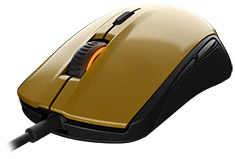SteelSeries Rival 100 Optical Gaming Mouse Alchemy Gold