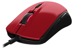 SteelSeries Rival 100 Optical Gaming Mouse Forge Red