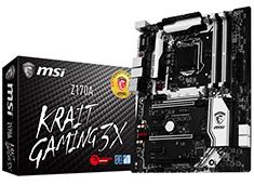 MSI Z170A Krait Gaming 3X Motherboard