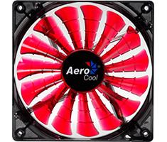 Aerocool Shark 140mm Devil Red Edition LED Fan