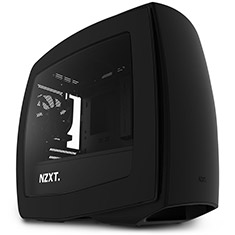 NZXT Manta Matte Black Mini ITX Case