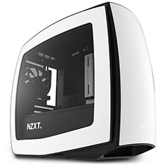NZXT Manta Matte White Mini ITX Case