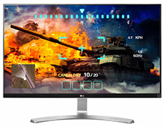 LG 27UD68-W 27in 4K UHD IPS FreeSync Gaming Monitor