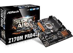 ASRock Z170M Pro4S Motherboard