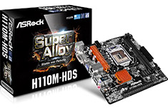 ASRock H110M-HDS Motherboard