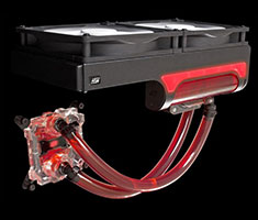 Swiftech H240 X2 AIO CPU Liquid Cooling System