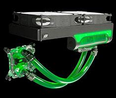 Swiftech H240 X2 Prestige AIO CPU Liquid Cooling System