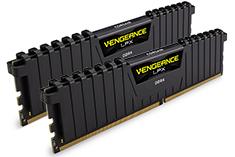Corsair Vengeance LPX CMK16GX4M2A2400C16 16GB (2x8GB) DDR4 Black
