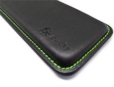 Ducky Wrist Rest Full Size Green Stitching
