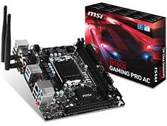 MSI B150I Gaming Pro AC Mini-ITX Motherboard