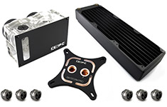XSPC RayStorm Pro Twin D5 RX360 WaterCooling Kit