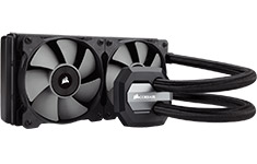 Corsair Hydro Series H100i 240mm Liquid CPU Cooler