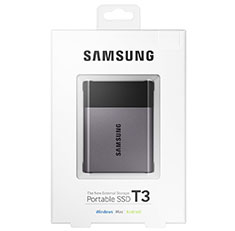 Samsung T3 USB 3.1 Type-C Portable SSD 250GB