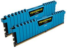 Corsair Vengeance LPX CMK16GX4M2B3000C15B 16GB (2x8GB) DDR4 Blue