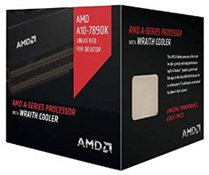 AMD A10 7890K Black Edition Processor with Wraith Cooler