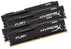 Kingston HyperX Fury HX421C14FBK4/64 64GB (4x16GB) DDR4