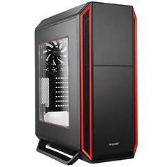Be Quiet! Silent Base 800 Case with Window Red