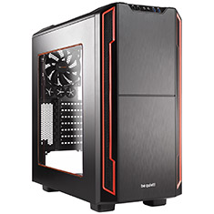 Be Quiet! Silent Base 600 Case with Window Red