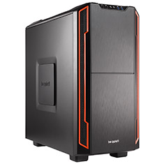 Be Quiet! Silent Base 600 Case Red