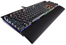 Corsair Gaming K70 RGB Rapidfire Mech Keyboard Cherry MX Speed