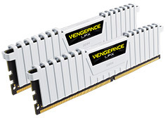 Corsair Vengeance LPX CMK16GX4M2B3200C16W 16GB (2x8GB) DDR4