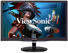 ViewSonic VX2457 FHD 75Hz FreeSync 24in TN Gaming Monitor